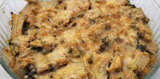 Receta de acelgas con calabacín al horno fácil y rápida