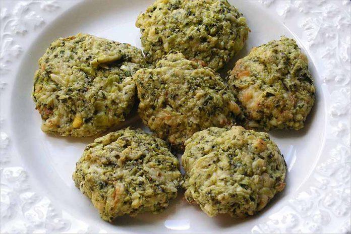 Receta de albóndigas de brócoli o brécol fácil y rápida