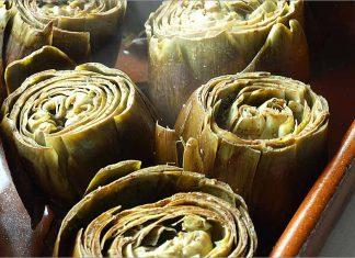 Receta de alcachofas al ajo y perejil fácil y rápida
