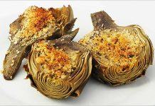 Receta de alcachofas al horno fácil y rápida