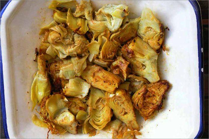 Receta de alcachofas estofadas fácil y rápida