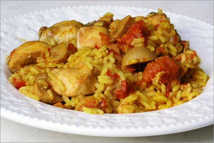 Receta de arroz a la campesina fácil y rápida