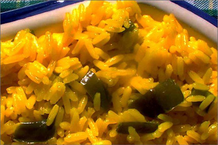 Receta de arroz chino fácil y rápida