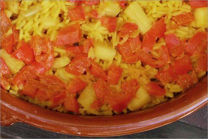 Receta de arroz con sepia fácil y rápida