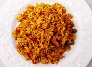 Receta de arroz marinera fácil y rápida