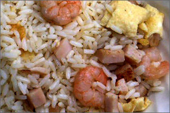 Receta de arroz tres delicias fácil y rápida