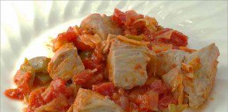 Receta de atún en tacos con verduras fácil y rápida