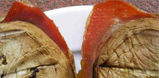 Receta de bocadillos de berenjena y jamón fácil y rápida