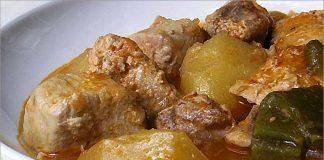 Receta de bonito con patatas fácil y rápida