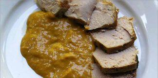 Receta de bonito con salsa de mango fácil y rápida