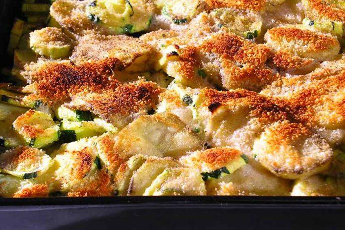 Receta de calabacines a la siciliana fácil y rápida