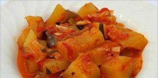 Receta de calabacines con tomates fácil y rápida