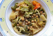 Receta de Cocido vegetariano y vegano fácil y rápida