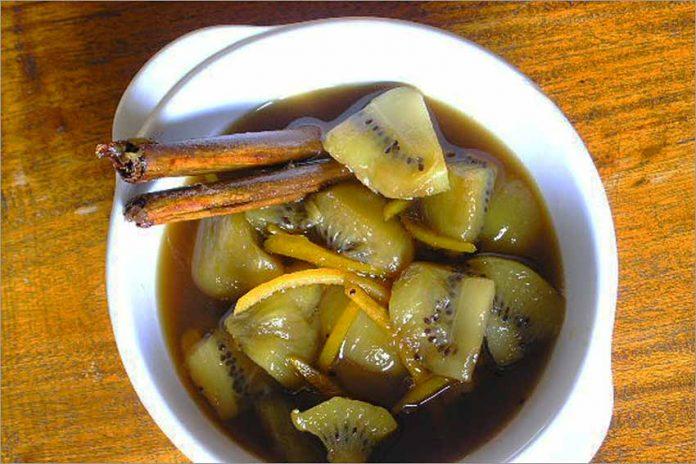 Receta de compota de kiwi fácil y rápida