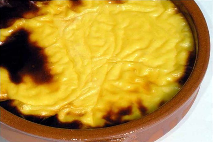 Receta de crema al horno fácil y rápida