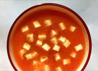 Receta de crema de tomate fácil y rápida