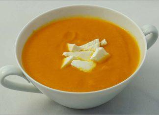 Receta de crema de zanahoria fácil y rápida