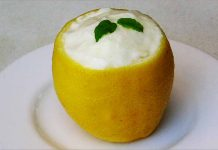 Receta de crema helada de limón fácil y rápida