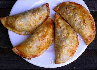 Receta de empanadillas de pollo al horno fácil y rápida