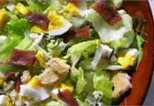 Receta de ensalada césar fácil y rápida