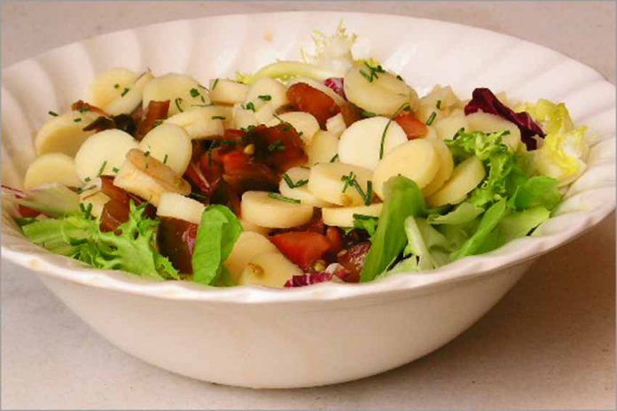 Receta de ensalada de palmitos fácil y rápida