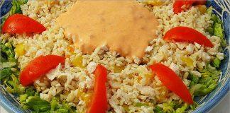 Receta de ensalada de pollo fácil y rápida