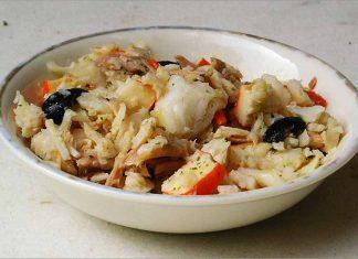 Receta de ensalada fría de pescado fácil y rápida