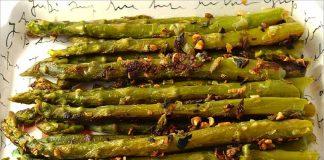 Receta de espárragos verdes picantes fácil y rápida