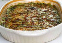 Receta de espinacas con bechamel fácil y rápida