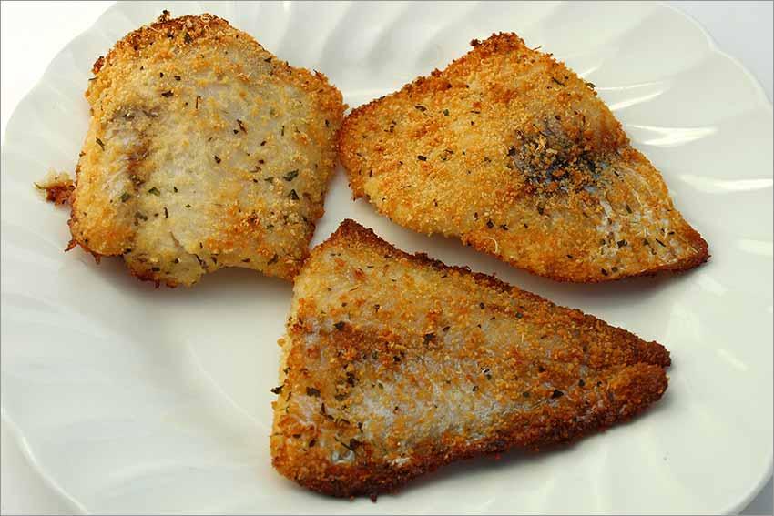 Filetes de merluza al queso