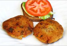 Receta de hamburguesas de avena fácil y rápida