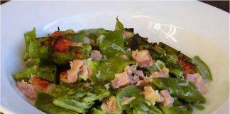 Receta de judías verdes gratinadas fácil y rápida