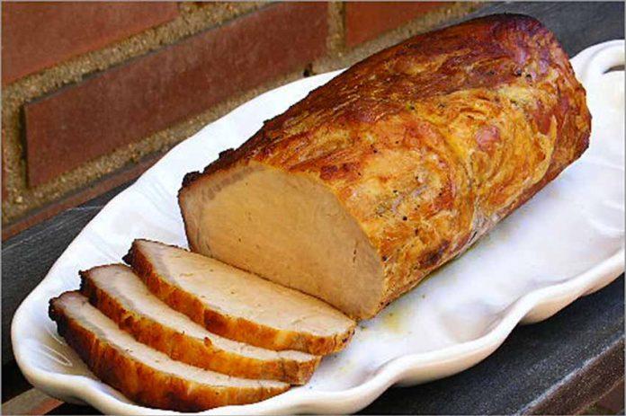 Receta de lomo de cerdo a la miel fácil y rápida