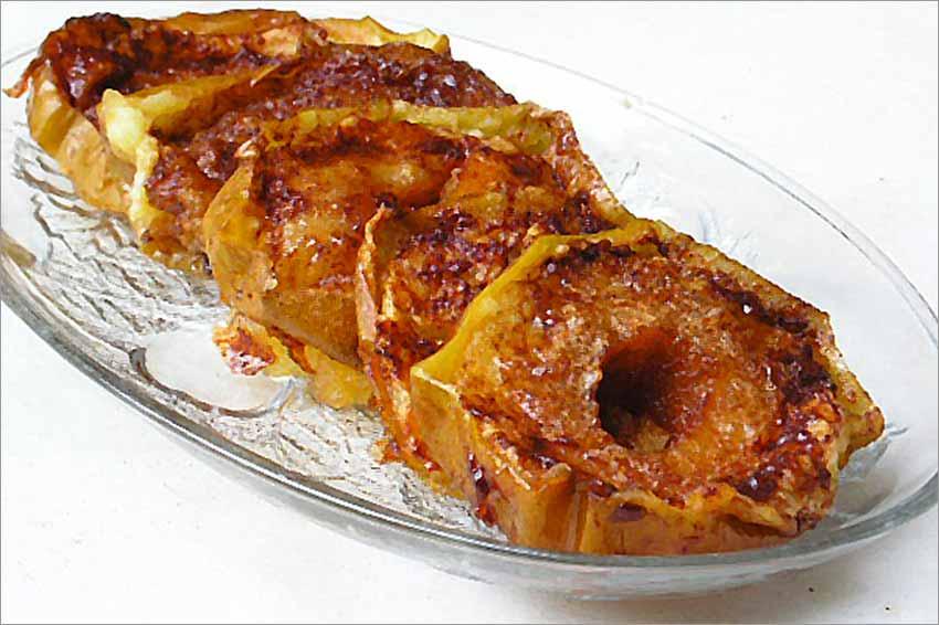 receta para hacer manzanas asadas al horno