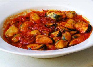 Receta de mejillones en salsa fácil y rápida