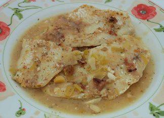 Receta de merluza con salsa de almendras fácil y rápida