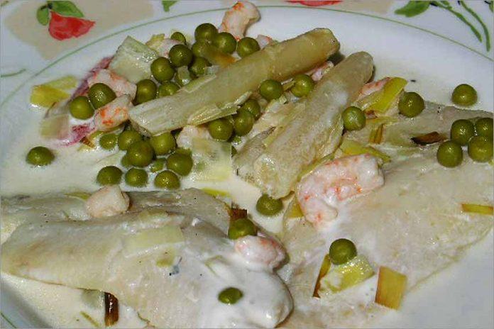 Receta de merluza con verduras fácil y rápida