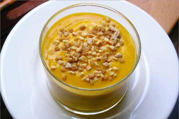 Receta de mousse de mango fácil y rápida
