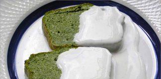 Receta de pastel de espinacas con salsa Roquefort fácil y rápida