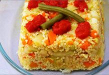 Receta de pastel de mijo fácil y rápida