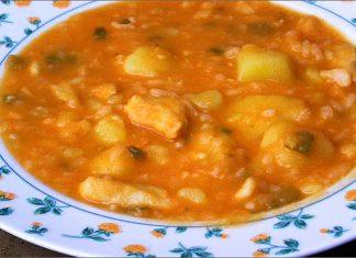 Receta de patatas con bacalao fácil y rápida
