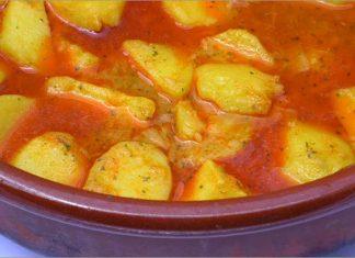 Receta de patatas viudas fácil y rápida