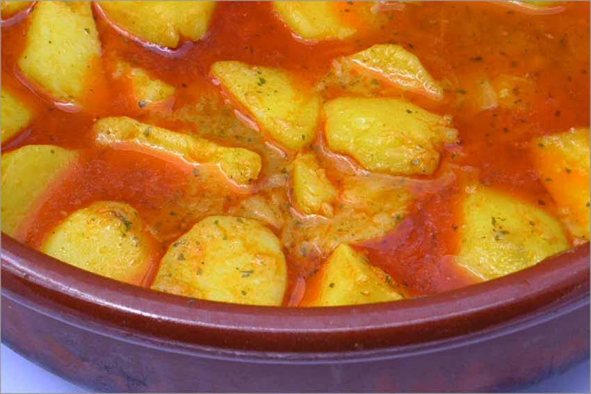 Patatas viudas