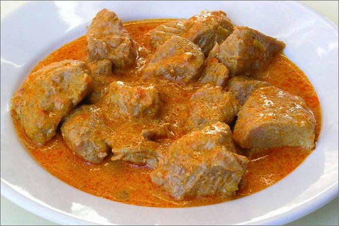 Receta de pavo al curry fácil y rápida