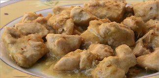 Receta de pechugas de pavo con salsa de limón fácil y rápida
