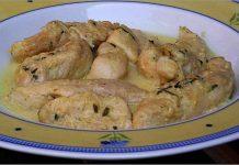 Receta de pechugas de pollo con nata fácil y rápida
