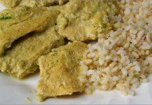 Receta de pechugas de pollo con salsa de puerros fácil y rápida