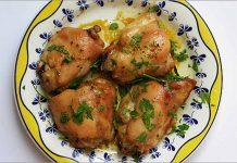 Receta de pollo al ajillo fácil y rápida