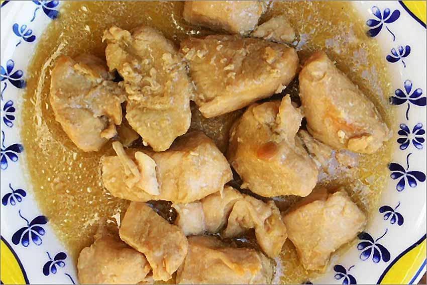 Pollo al Jerez