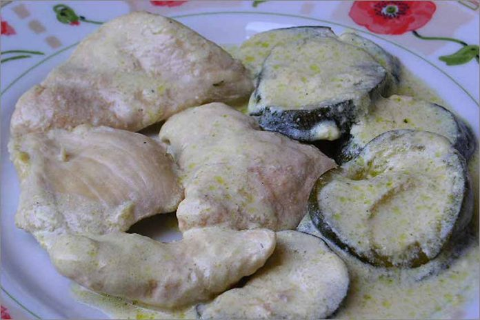 Receta de pollo con calabacines fácil y rápida